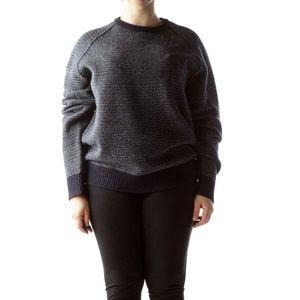 J. Crew Lambswool knit ringer